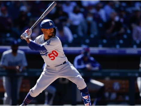 Dodgers give encouraging update on Mookie Betts' injury