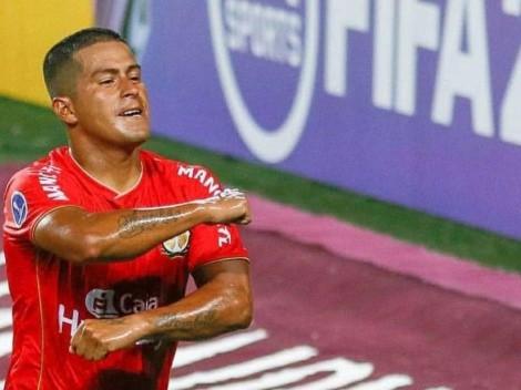 Mucha fuerza Marcio: Valverde se emocionó tras su gol con Sport Huancayo