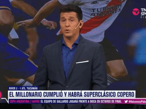 Hernán Castillo reveló que Boca quiere atrasar el Superclásico contra River