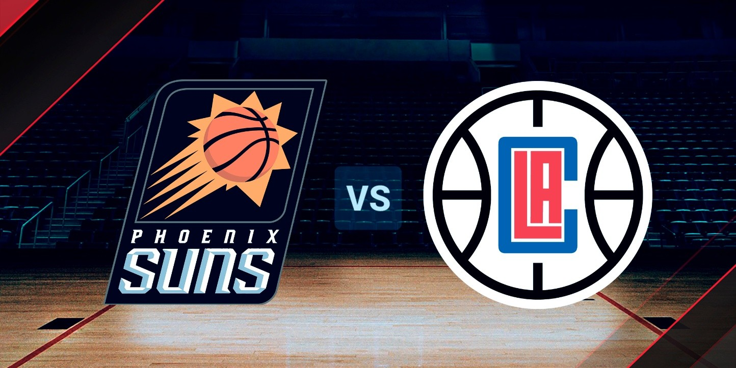 Phoenix Suns vs. Los Angeles Clippers, NBA.