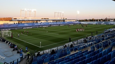 The Estadio Alfredo Di Stefano is hosting Real Madrid's games (Getty).