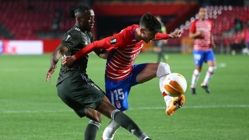 Manchester United defeated Granada despite the strange episode (Getty).