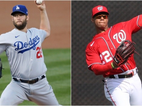 Los Angeles Dodgers host Washington Nationals in the MLB