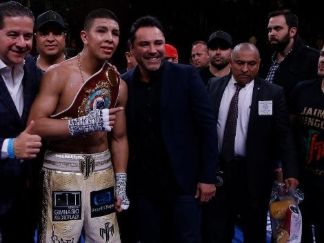 Óscar de la Hoya confirmó nuevo rival para Jaime Munguia y le dio su bendición