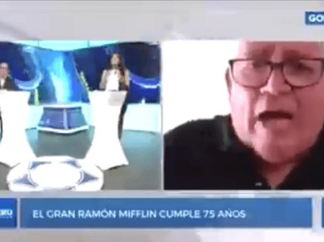 Salió del libreto: Ramón Mifflin hizo pedido a Sagasti en programa de GolPerú