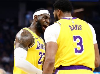 LeBron James y Anthony Davis, Los Angeles Lakers