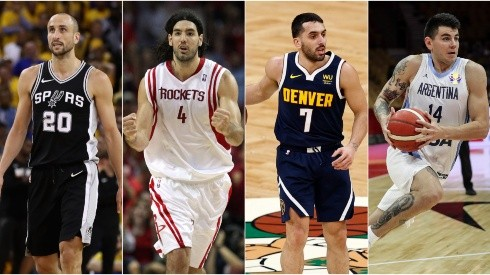 Check out the complete list of Argentinian players in the NBA (Getty).