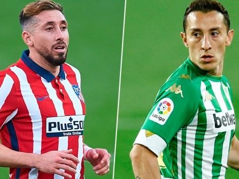 Atlético de Madrid vs. Betis: El duelo de mexicanos que no podrá ser