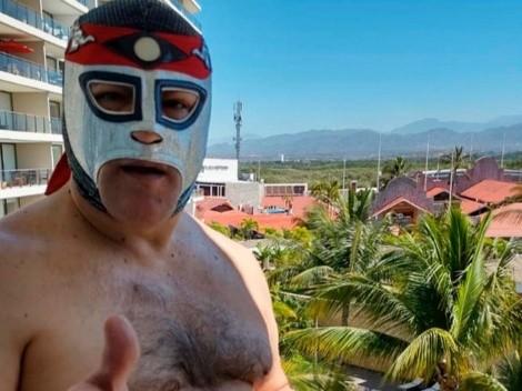 El impresionante cambio físico del luchador Octagón a sus 60 años