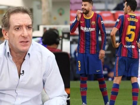 """Eddie Fleischman liquida al Barcelona: """"Mazamorra azulgrana"""""""