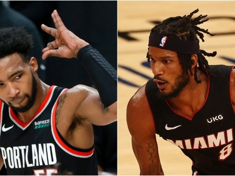 Portland Trail Blazers host the Miami Heat in an exciting game of the NBA