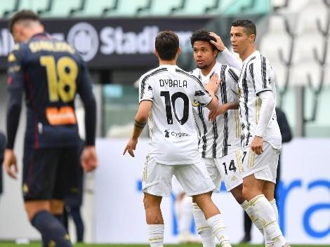 No le da respiro al Inter: Juventus le ganó 3 a 1 al Genoa