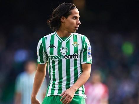 Diego Lainez ingresó motivado pero Jan Oblak le negó el gol