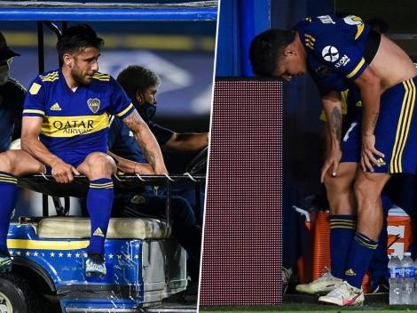 Las 8 lesiones que Boca sufrió durante el 2021