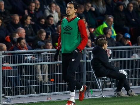 Erick Gutiérrez se lesionó y PSV lo perderá por toda la temporada