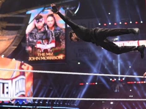 FOTOS: Bad Bunny exhibe las huellas de su debut en la lucha libre en Wrestlemania