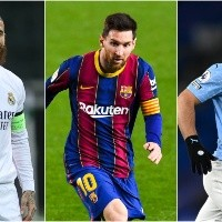 Best free agents in 2021: Starting XI with top players going out of contract