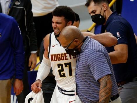 Se teme lo peor: las imágenes de la dura lesión de Jamal Murray