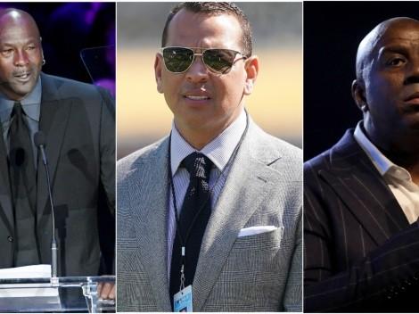 ¿Qué tienen en común Jordan, Beckham, Magic,  Nash y A-Rod?