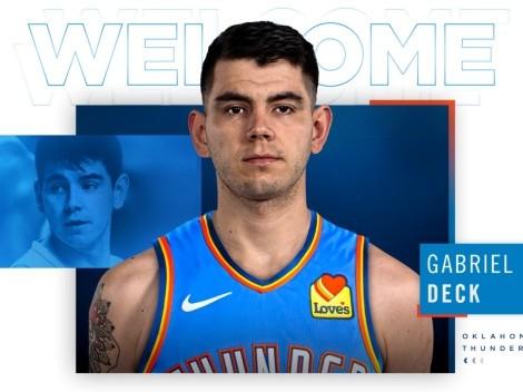 Ya se conoce el número que usará Gabriel Deck en su debut en NBA