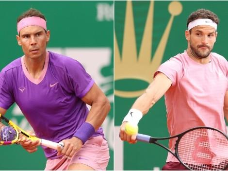 Rafa Nadal and Grigor Dimitrov clash in Monte-Carlo Masters round of 16