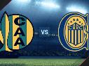 Aldosivi vs. Rosario Central por la Copa de la Liga Profesional.