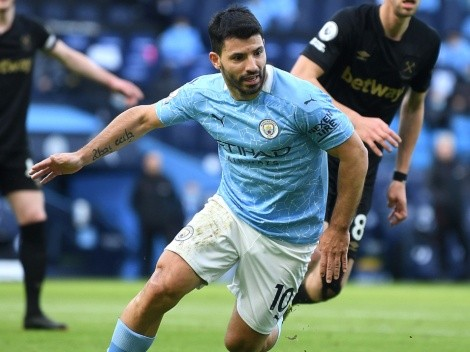 Barcelona want Aguero to join Messi, but they face tough competition