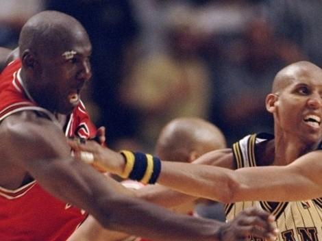 De un puñetazo a no querer jugar en los Bulls: Miller y el odio a Michael Jordan