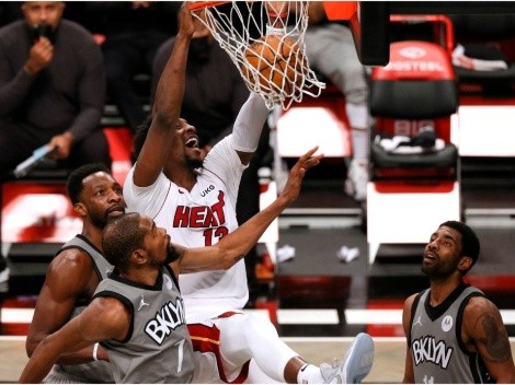 Heat host Nets in an Eastern Conference showdown