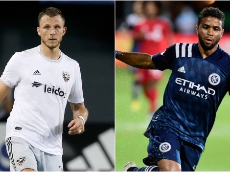 DC United face New York City FC in the MLS Round 1