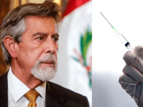 """""""Todos estarán vacunados a fin de año"""": Fernando Sagasti se compromete"""