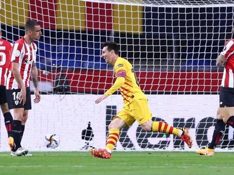 El día que Messi volvió a ser feliz en Barcelona: ¡campeón de la Copa del Rey!