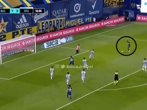 Video: Villa desparramó al arquero y sacó un bombazo para el segundo de Boca