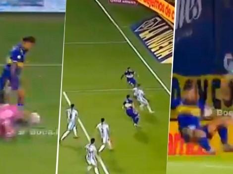 Video: Tevez se quiso gambetear hasta al palo, pero terminó errando un gol insólito
