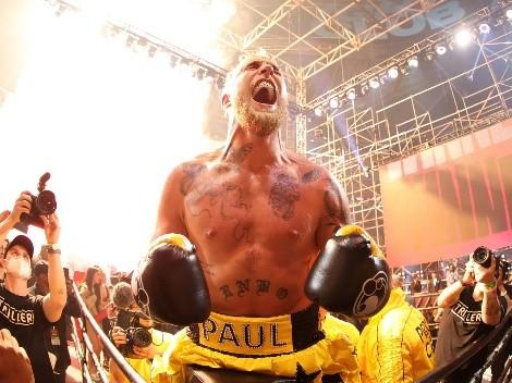 Jake Paul gana con un impactante knockout ante Askren y se largó a llorar