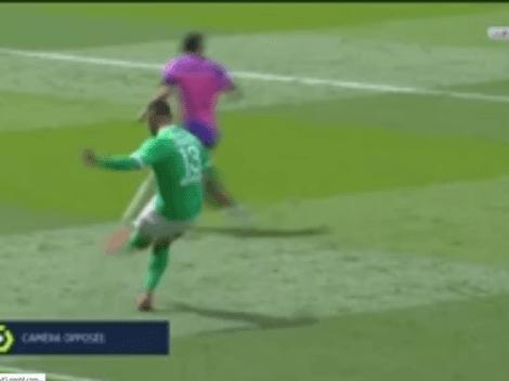 Contra el PSG: Miguel Trauco metió exquisita asistencia en el Saint Etienne