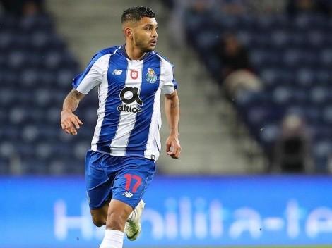 Siempre Tecatito: Corona asistió a Taremi para poner el 1-0 parcial de Porto sobre Nacional