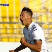 Colo Colo se pone en ventaja frente a Everton con gol de Morales