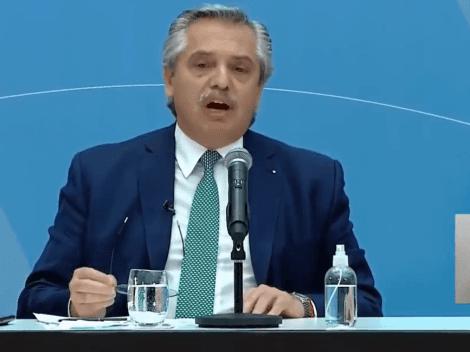 """Alberto Fernández: """"El virus contagia al que trabaja... y al presidente"""""""