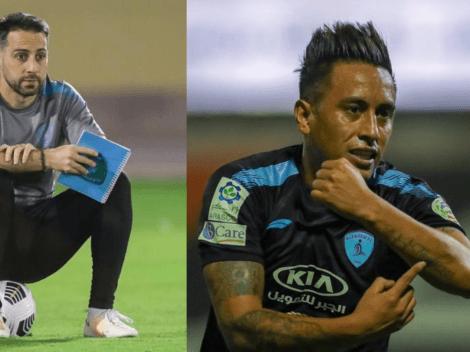 """""""Desde que llegó el equipo mejoró"""": DT de Christian Cueva lo adora"""