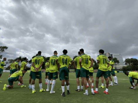Atención Universitario: Palmeiras pudo entrenar y está listo para Copa Libertadores