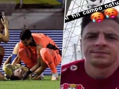 ¿Está para la Copa América? Santiago Arias volvió a entrenar en el campo de juego