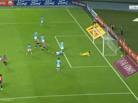 Toda de Corozo: Sao Paulo metió el 1-0 contra Cristal por mal despeje