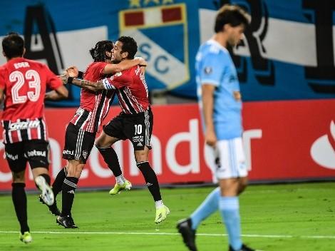 Historia repetida: Sporting Cristal cayó goleado contra Sao Paulo en la Copa Libertadores