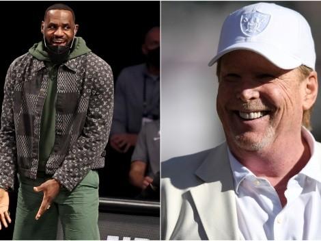 La reacción de LeBron James al tweet de Las Vegas Raiders por caso George Floyd