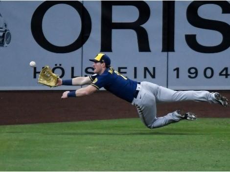 Billy McKinney protagonizó espectacular jugada a la defensiva en la MLB