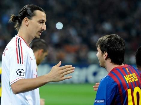 Locura total: ¿Ibrahimovic le dijo a Messi que se vaya a jugar a River?