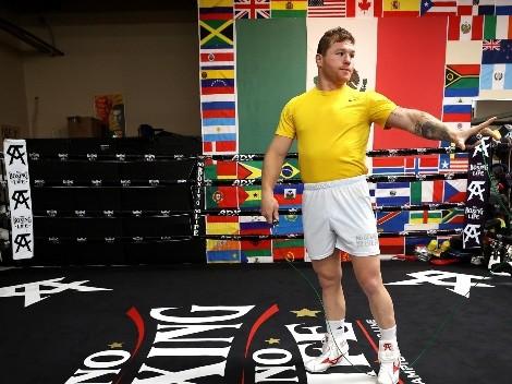 """""""Espero a la gente gritando 'Canelo' en el estadio"""": Álvarez sobre su próxima pelea"""