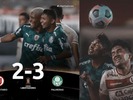 'Palmeirazo' en el Monumental: Universitario de Deportes cayó derrotado por 2-3 al final