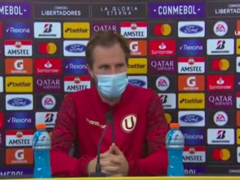"""Hicimos un gran partido. Nos vamos dolidos"": Hernán Novick lamenta derrota"